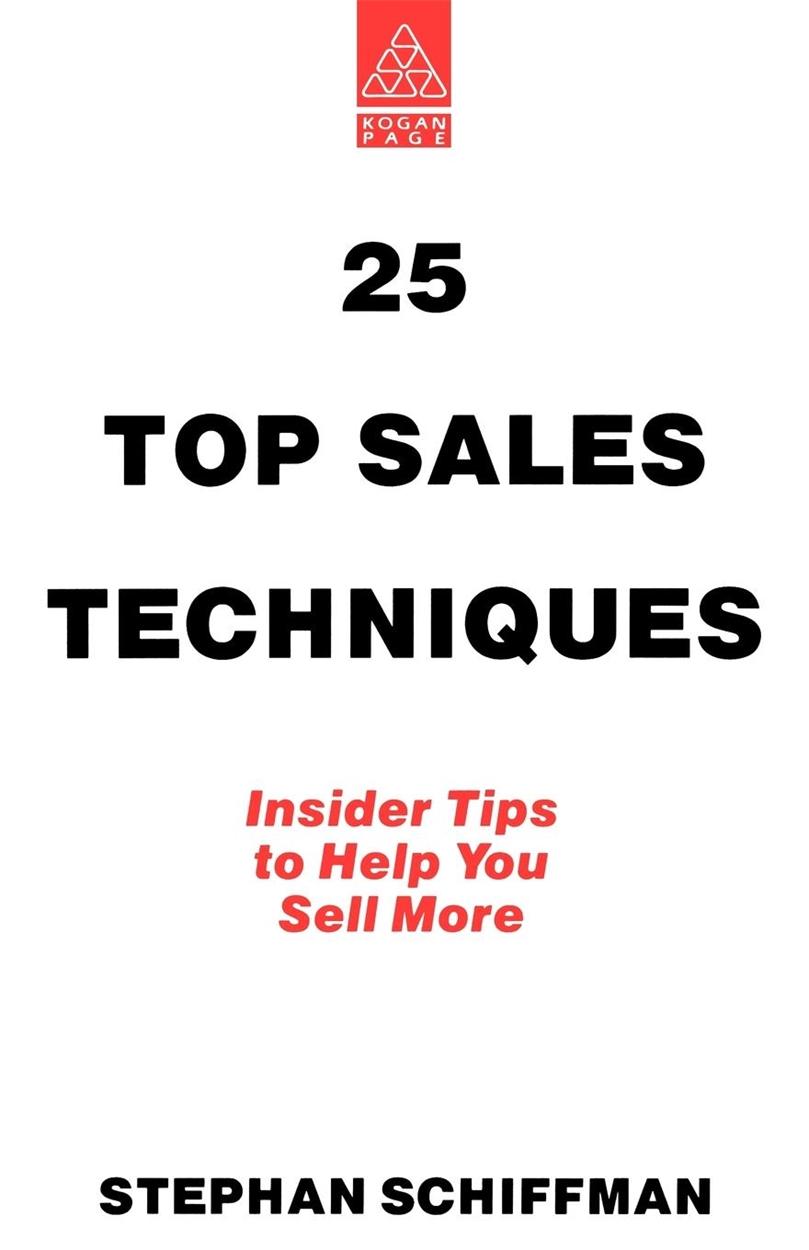 25 Top Sales Techniques (9780749407360)