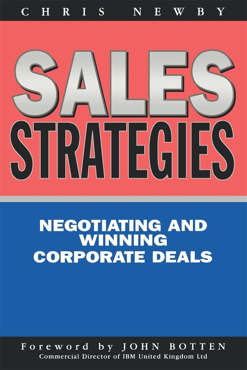 Sales Strategies (9780749427733)