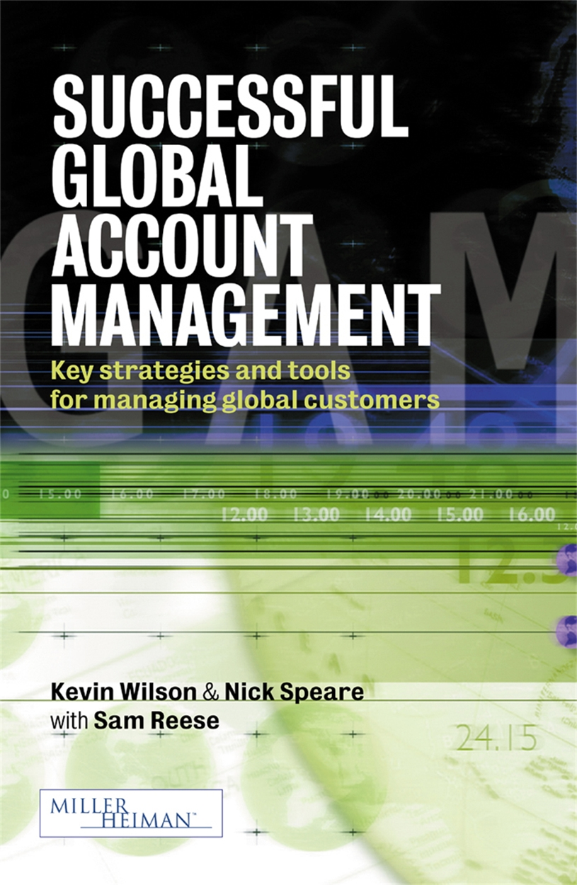 Successful Global Account Management (9780749436049)