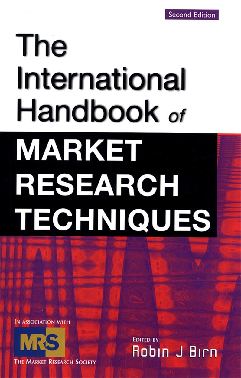 International Handbook of Market Research Techniques (9780749438654)