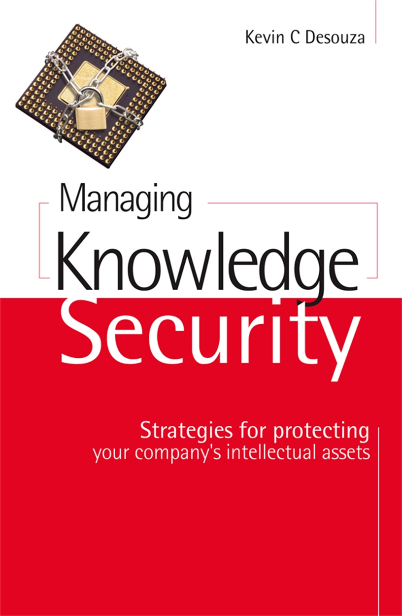 Managing Knowledge Security (9780749449612)