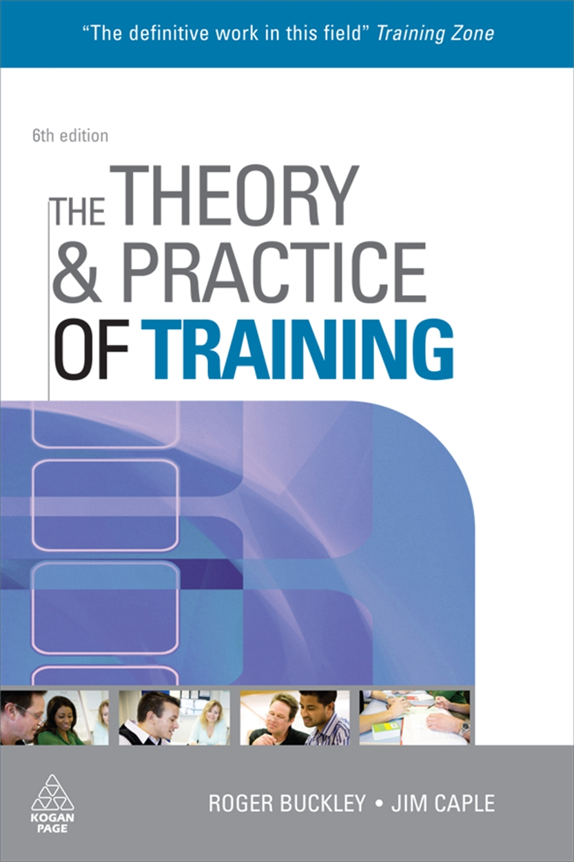 The Theory and Practice of Training (9780749454197)
