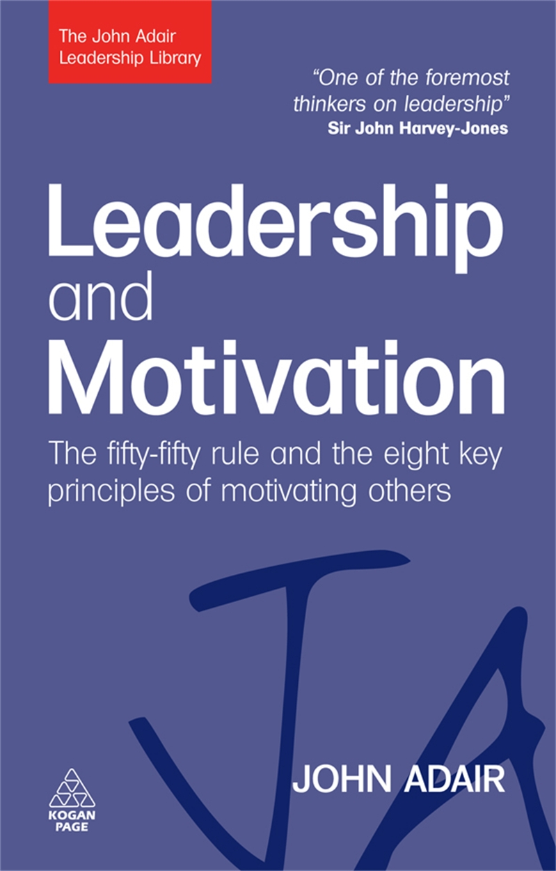 Leadership and Motivation (9780749454821)