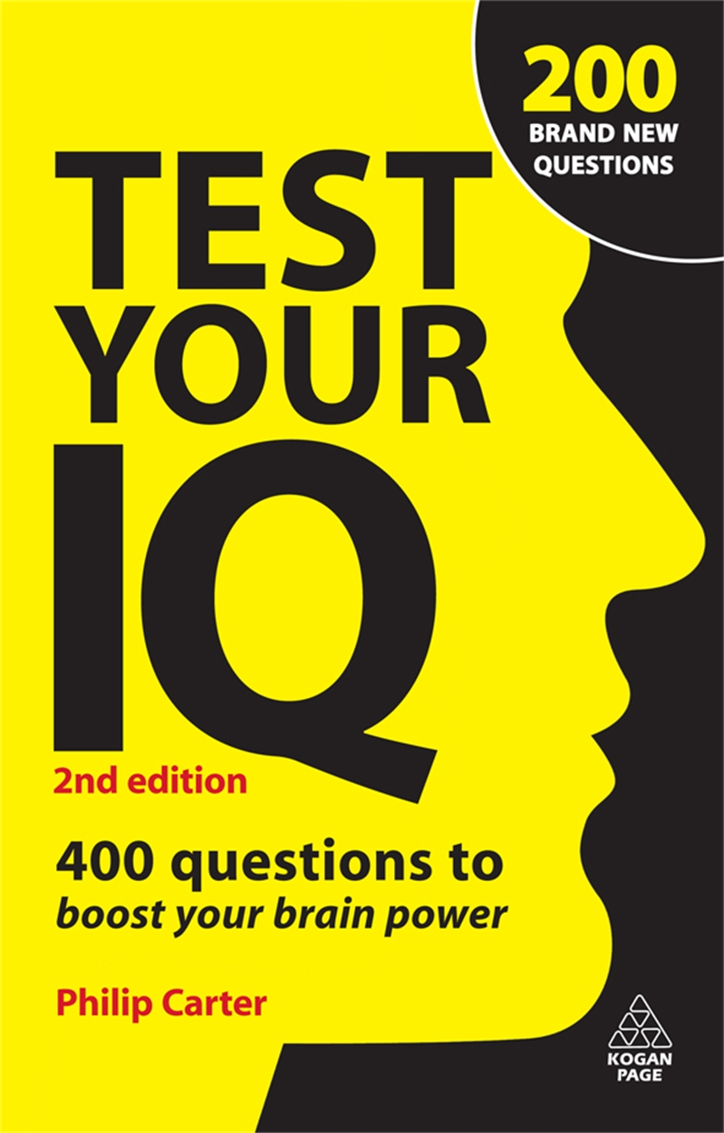 Test Your IQ (9780749456771)