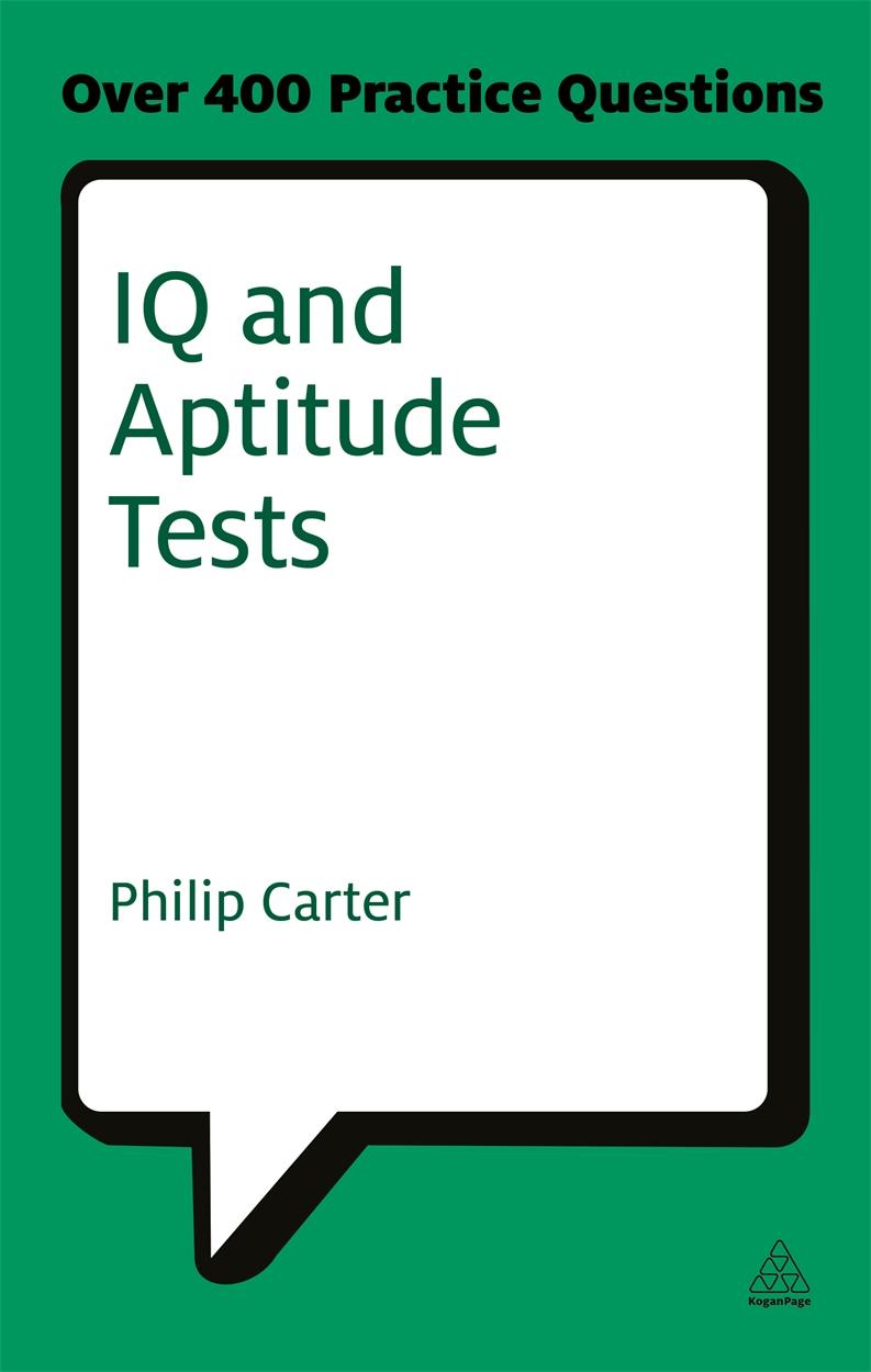 IQ and Aptitude Tests (9780749461959)