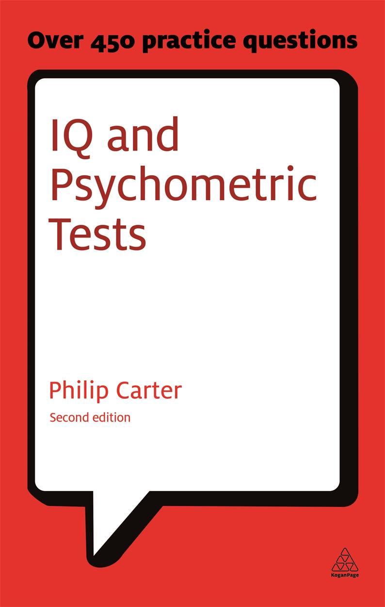 IQ and Psychometric Tests (9780749461966)