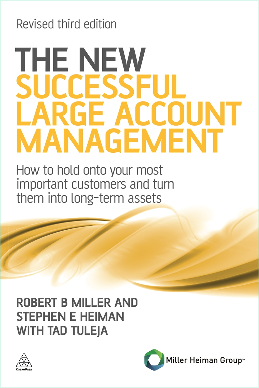 The New Successful Large Account Management (9780749462901)
