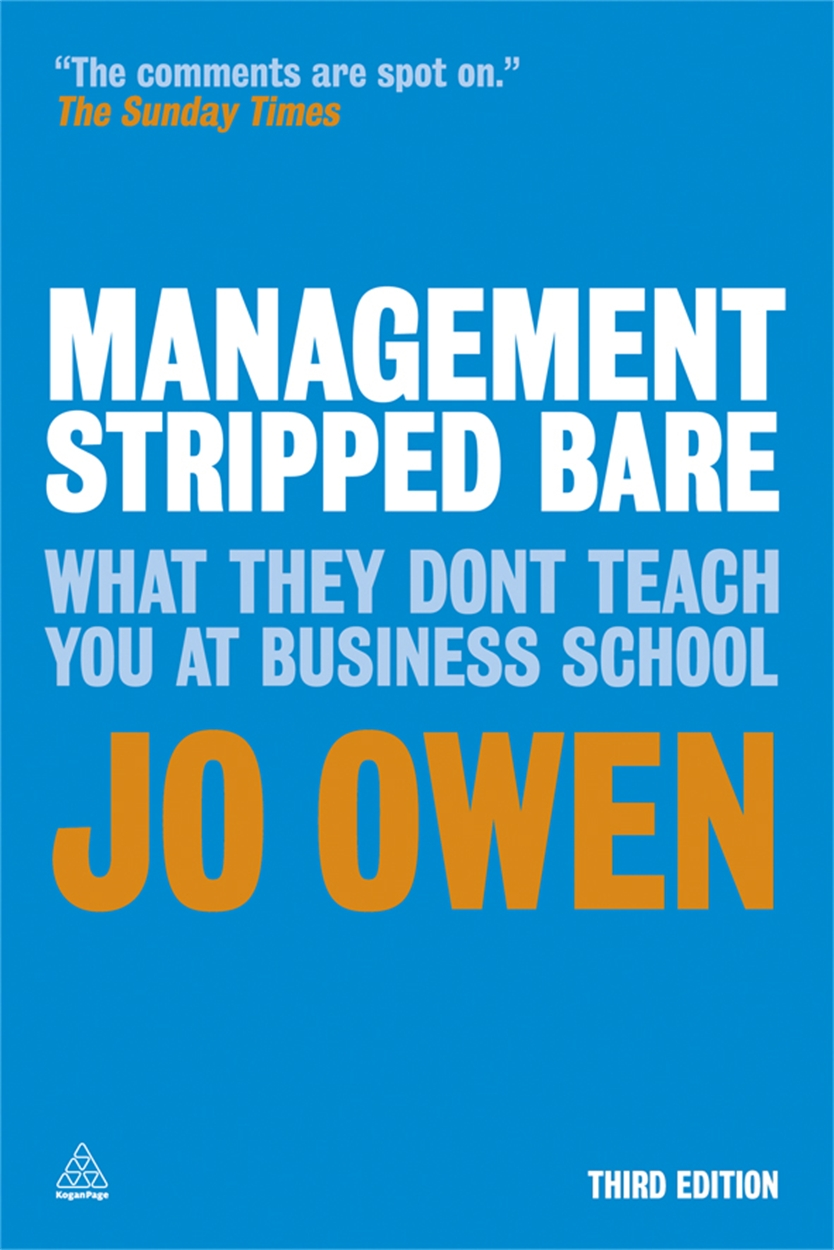 Management Stripped Bare (9780749464769)