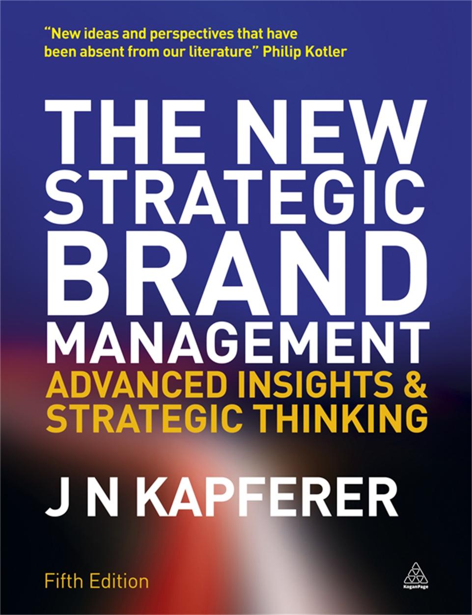 The New Strategic Brand Management (9780749465155)