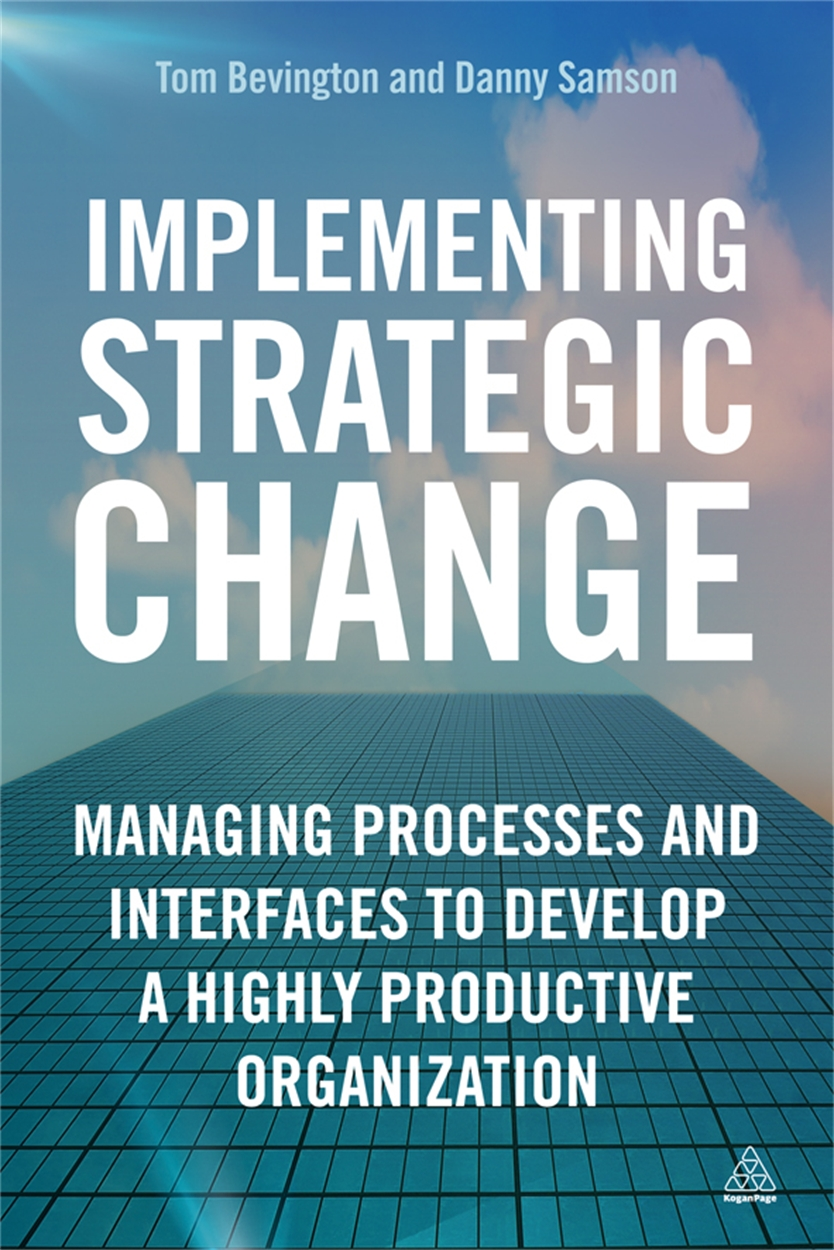Implementing Strategic Change (9780749465544)