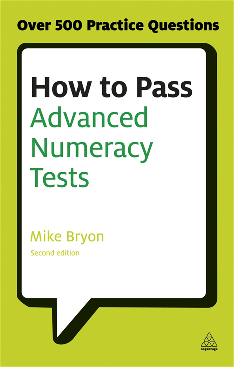 How to Pass Advanced Numeracy Tests (9780749467890)