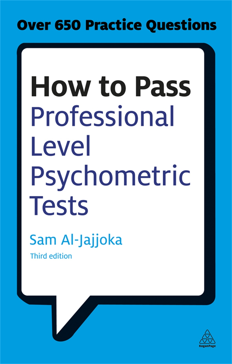 How to Pass Professional Level Psychometric Tests (9780749467951)