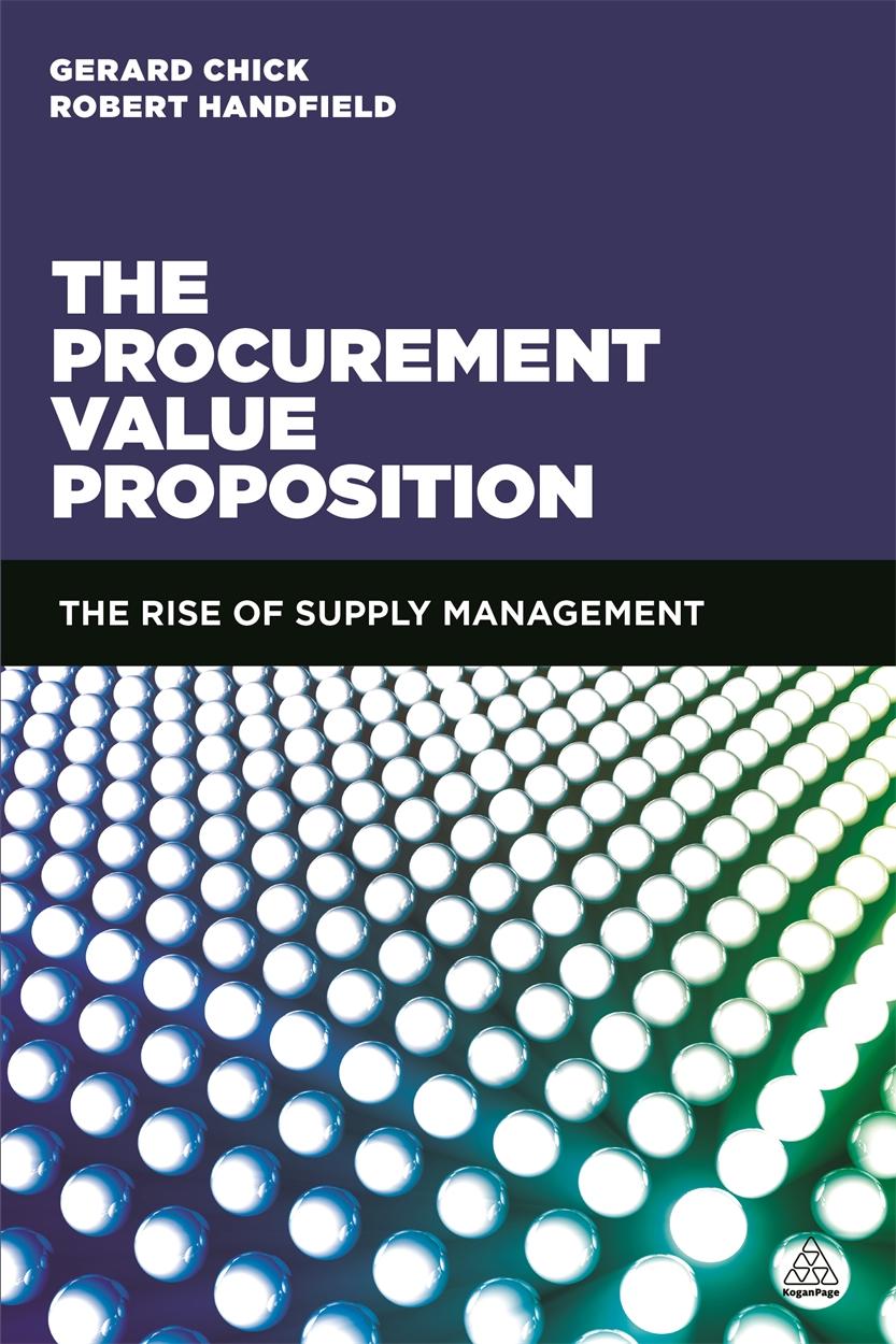 The Procurement Value Proposition (9780749471194)