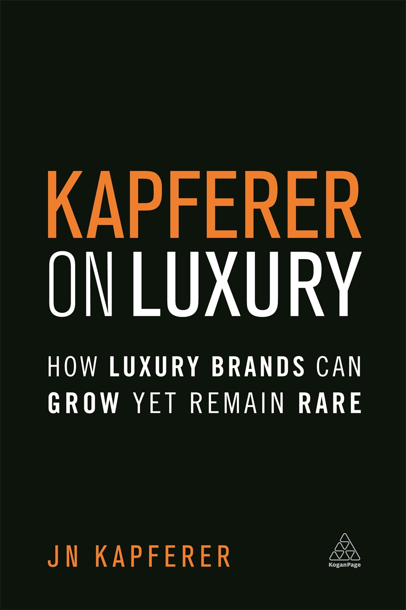 Kapferer on Luxury (9780749474362)