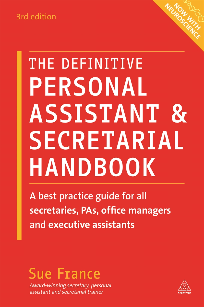 The Definitive Personal Assistant Amp Secretarial Handbook
