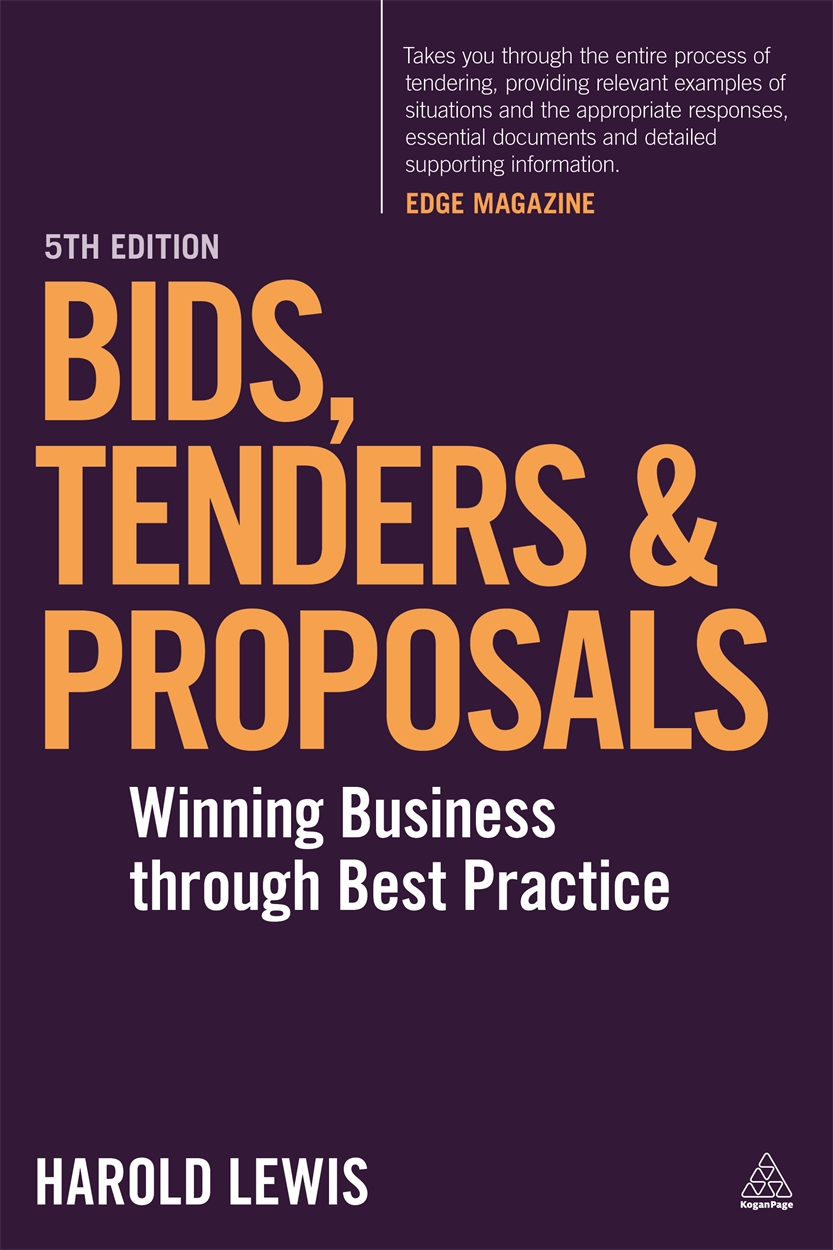 Bids, Tenders and Proposals (9780749474843)