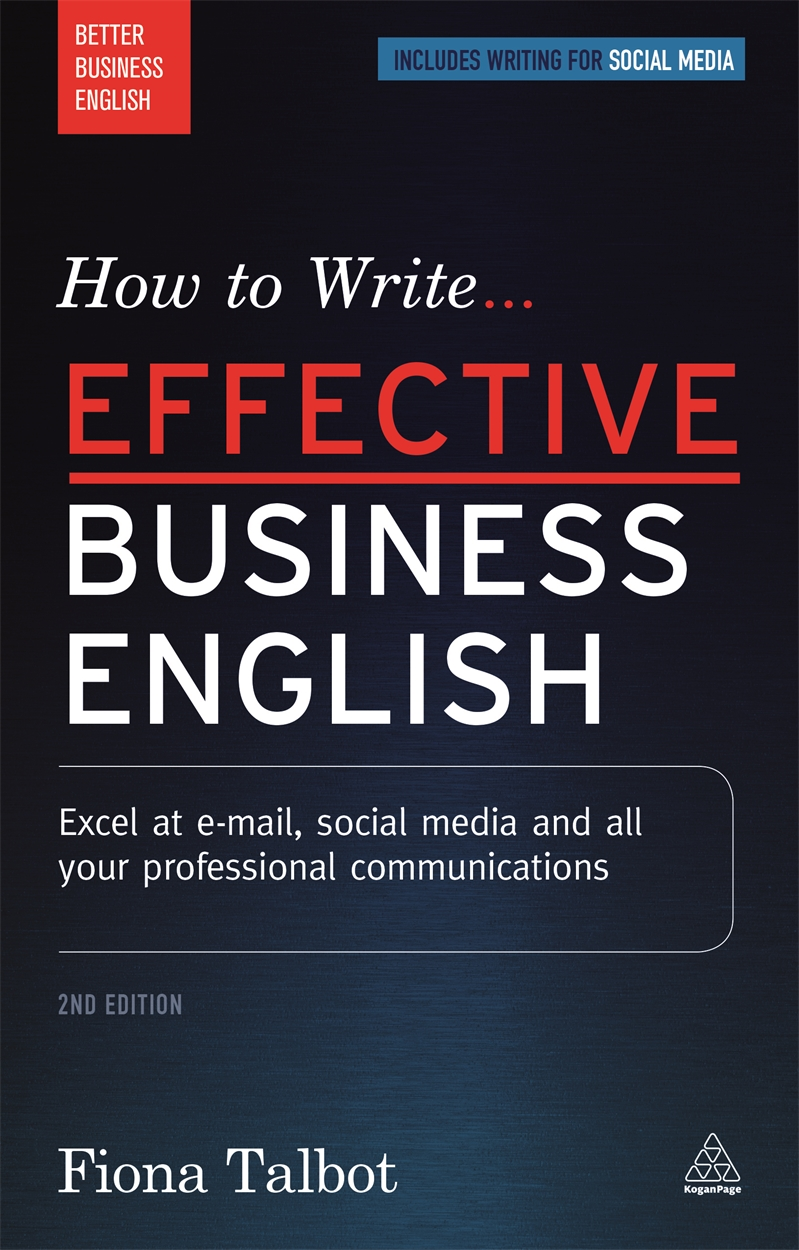 How to Write Effective Business English (9780749475550)