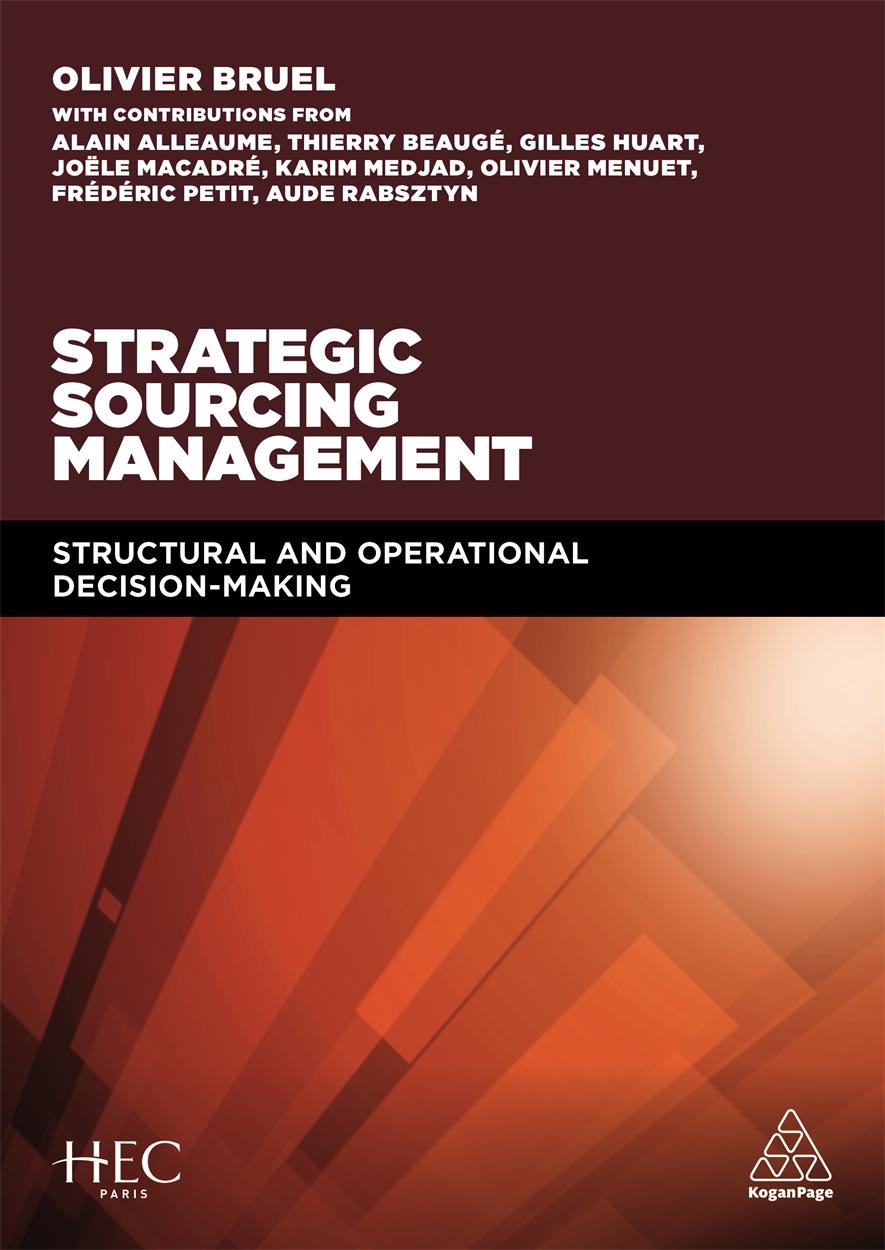 Strategic Sourcing Management (9780749476991)