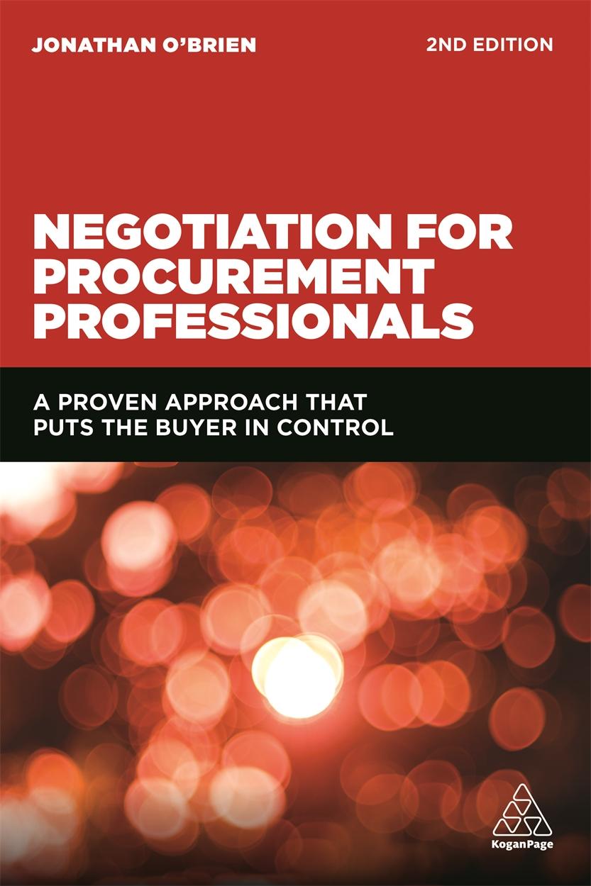 Negotiation for Procurement Professionals (9780749477301)
