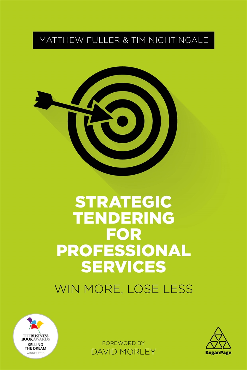Strategic Tendering for Professional Services (9780749478513)