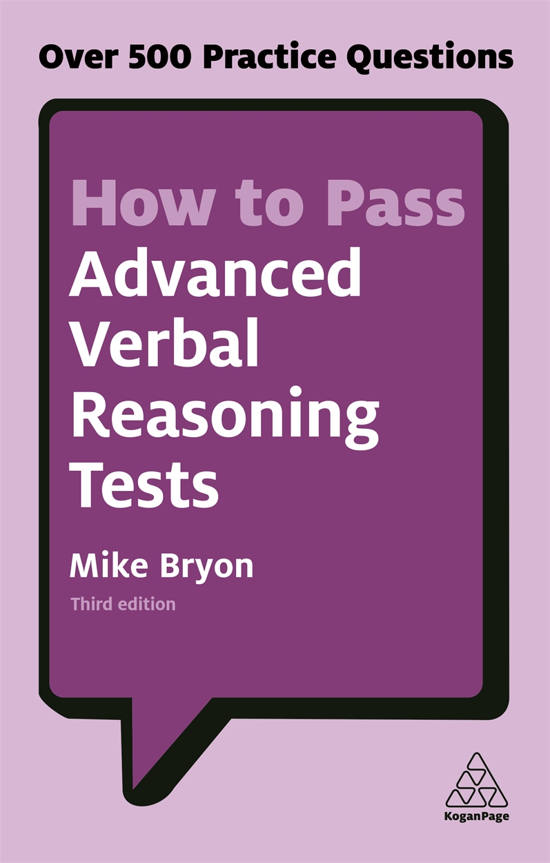 How to Pass Advanced Verbal Reasoning Tests (9780749480172)