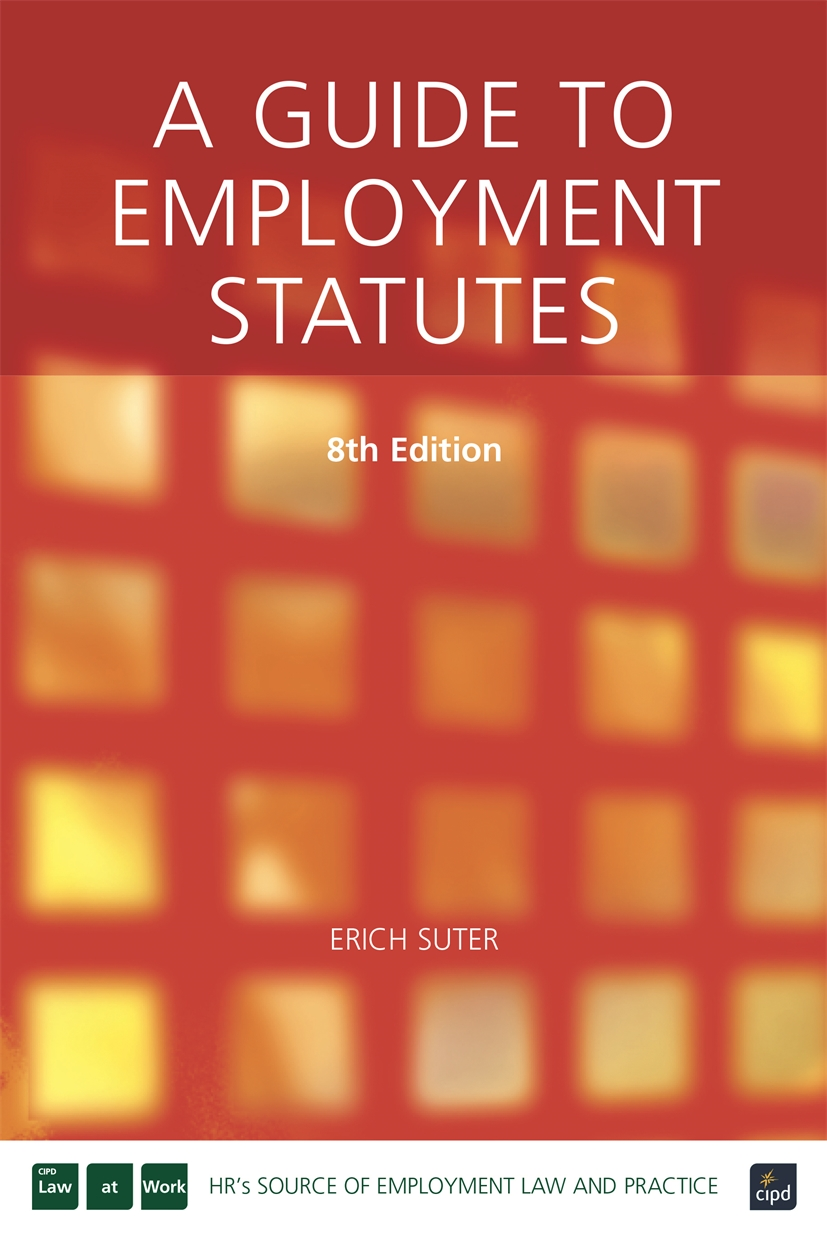 A Guide to Employment Statutes (9781843981374)