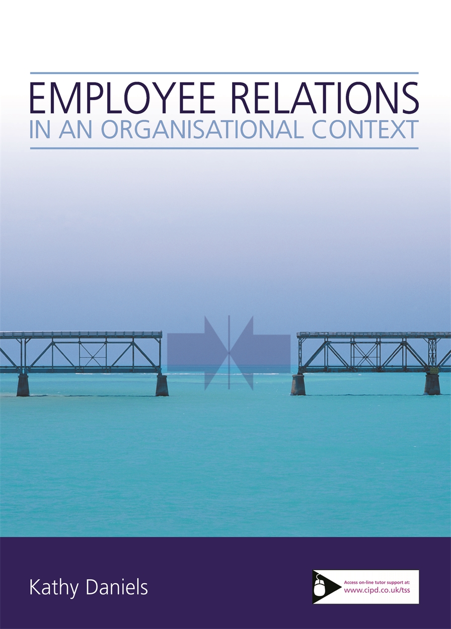Employee Relations in an Organisational Context (9781843981381)