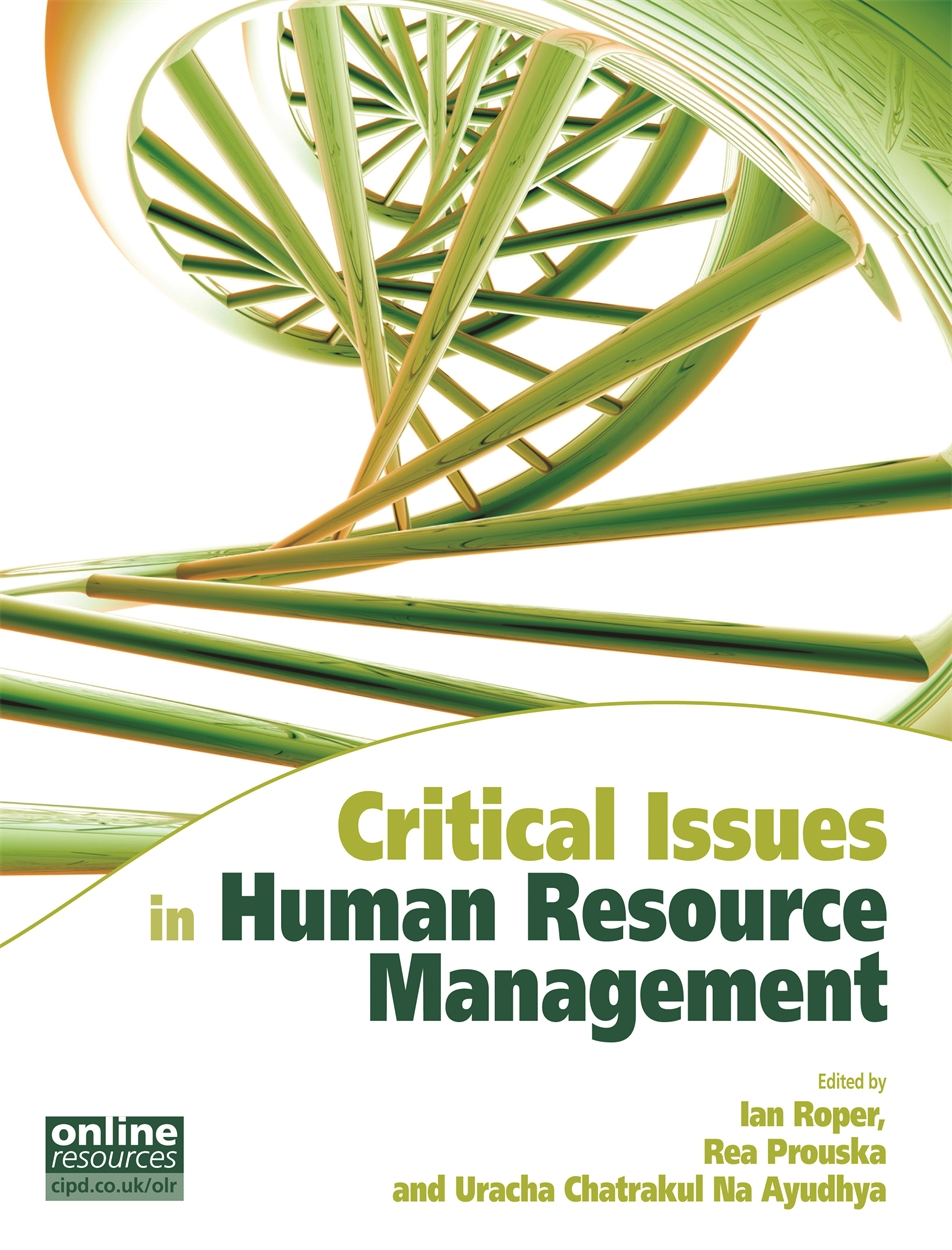 Critical Issues in Human Resource Management (9781843982425)