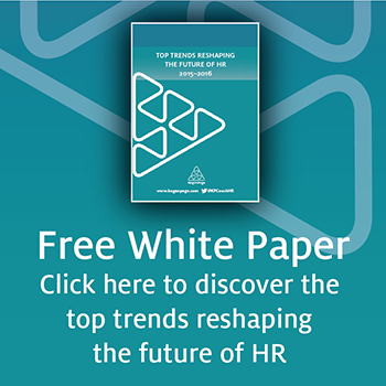 HR white paper button