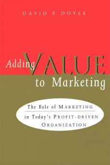 Adding Value to Marketing
