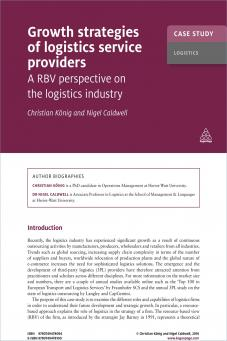 Case Study: Growth Strategies of Logistics Service Providers