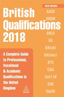 British Qualifications 2018