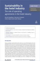 Case Study: Sustainability in the Hotel Industry