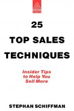 25 Top Sales Techniques