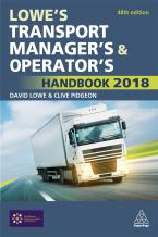 Lowe's Transport Manager's and Operator's Handbook 2018