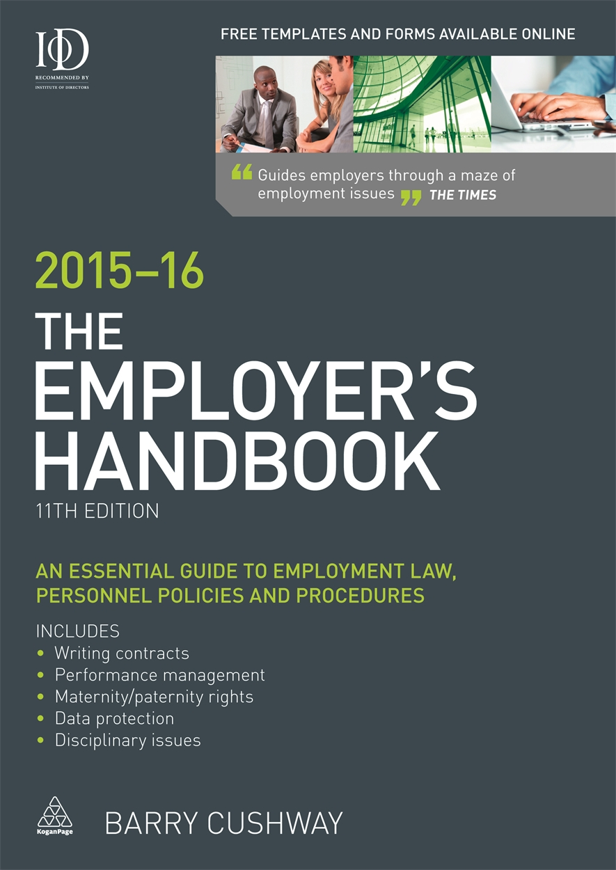 The Employer's Handbook 2015-16 (9780749474133)