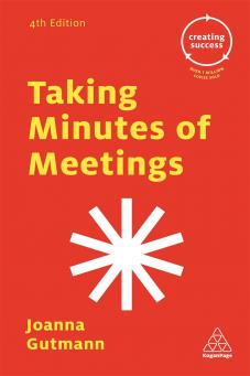 Taking Minutes of Meetings (9780749475796)